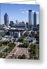Atlanta Georgia Skyline Greeting Card