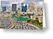 Atlanta Georgia Thrives Greeting Card