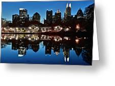 Atlanta Reflects Greeting Card