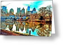 Atlanta The Great Greeting Card