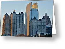 Atlanta Towers Greeting Card