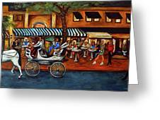Atlantic Avenue Greeting Card