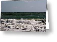 Atlantic - Beach - Waves Greeting Card
