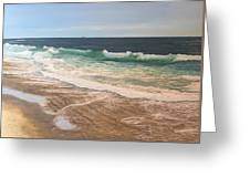 Atlantic Beach Waves Greeting Card