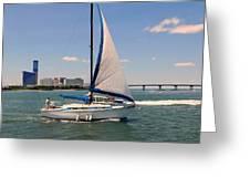 Atlantic City Series -12 Greeting Card