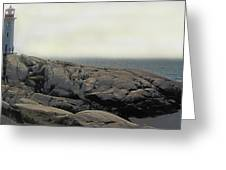 Atlantic Lighthouse Greeting Card