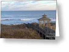 Atlantic Ocean Nc Greeting Card