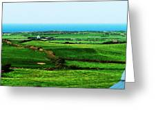 Atlantic View Doolin Ireland Greeting Card