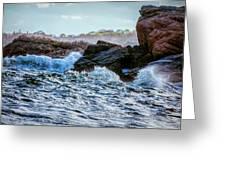 Atlantic Waves 2 Greeting Card