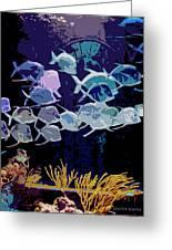 Atlantis Aquarium Greeting Card