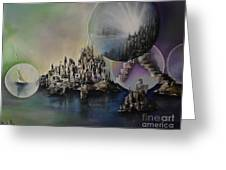 Atlantis Resurrected Greeting Card