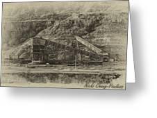 Atlas Coal Mine Greeting Card
