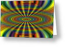 Atomic Rainbow Greeting Card