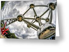 Atomium 3 Greeting Card