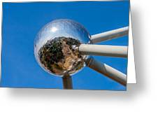 Atomium Greeting Card