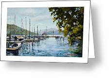 Attersee Austria Greeting Card