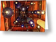 Attrim Lights Greeting Card