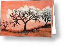 Atumn Trees Greeting Card