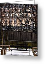 Au Jardin Du Luxembourg Greeting Card