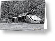 Auburn Barn Greeting Card by William Havle