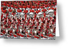 Auburn College Band Greeting Card