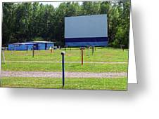 Auburn Ny - Drive-in Theater 3 Greeting Card