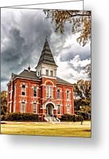 Auburn University - Hargis Hall Greeting Card