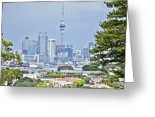 Auckland City C B D Greeting Card