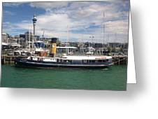 Auckland Harbour Greeting Card