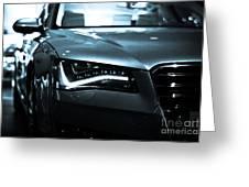 Audi A8 Greeting Card