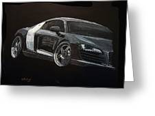 Audi Le Mans Greeting Card