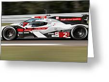 Audi R18 E-tron, Le Mans - 02 Greeting Card