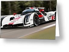 Audi R18 E-tron, Le Mans - 03 Greeting Card