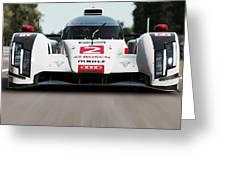 Audi R18 E-tron, Le Mans - 04 Greeting Card