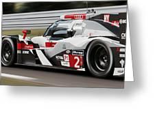Audi R18 E-tron, Le Mans - 07 Greeting Card