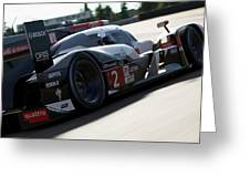 Audi R18 E-tron, Le Mans - 09 Greeting Card