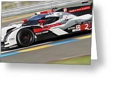 Audi R18 E-tron, Le Mans - 11 Greeting Card