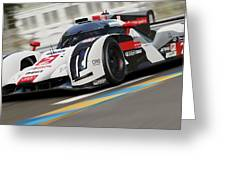 Audi R18 E-tron, Le Mans - 12 Greeting Card