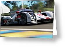 Audi R18 E-tron, Le Mans - 14 Greeting Card