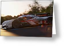 Audi R18 E-tron, Le Mans - 16 Greeting Card