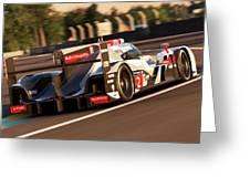 Audi R18 E-tron, Le Mans - 18 Greeting Card