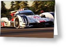 Audi R18 E-tron, Le Mans - 19 Greeting Card