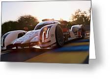 Audi R18 E-tron, Le Mans - 21 Greeting Card