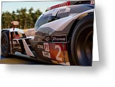 Audi R18 E-tron, Le Mans - 23 Greeting Card