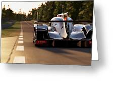 Audi R18 E-tron, Le Mans - 25 Greeting Card