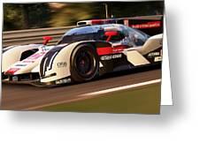 Audi R18 E-tron, Le Mans - 30 Greeting Card