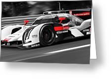 Audi R18 E-tron, Le Mans - 31 Greeting Card