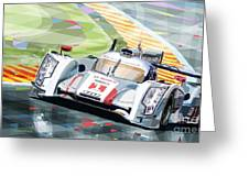 Audi R18 E-tron Quattro Greeting Card