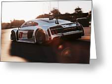 Audi R8 Lms - 08 Greeting Card