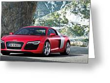 Audi R8 Greeting Card